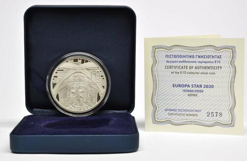 Lieferumfang:Griechenland : 10 Euro Gotik  2020 PP