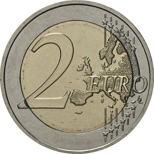 Vorderseite:Griechenland : 2 Euro 100. Jahrestag der Vereinigung Thrakiens mit Griechenland  2020 bfr