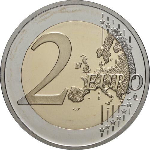 Vorderseite:Griechenland : 2 Euro 2500 Jahre Schlacht bei den Thermopylen  2020 PP