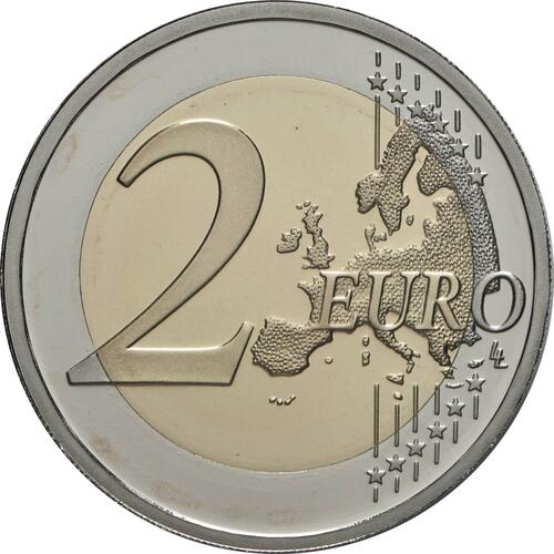 Vorderseite:Griechenland : 2 Euro 100. Jahrestag der Vereinigung Thrakiens mit Griechenland  2020 PP