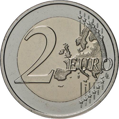 Vorderseite:Belgien : 2 Euro Jan van Eyck  2020 bfr