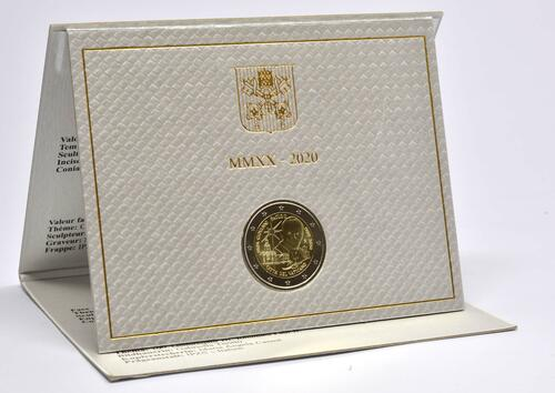 Lieferumfang:Vatikan : 2 Euro 100. Geburtstag von Johannes Paul II.  2020 Stgl.