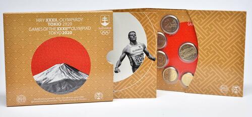 Lieferumfang:Slowakei : 3,88 Euro KMS Slowakei Sommerolympiade Tokio  2020 Stgl.