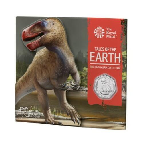 Lieferumfang:Großbritannien : 0.5 Pound The Dinosaura Collection - Megalosaurus  2020 Stgl.