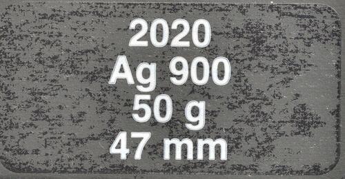 Zertifikat:Frankreich : 100 Euro Charles de Gaulle  2020 Stgl.
