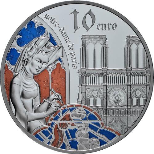 Vorderseite:Frankreich : 10 Euro Gotik  2020 PP