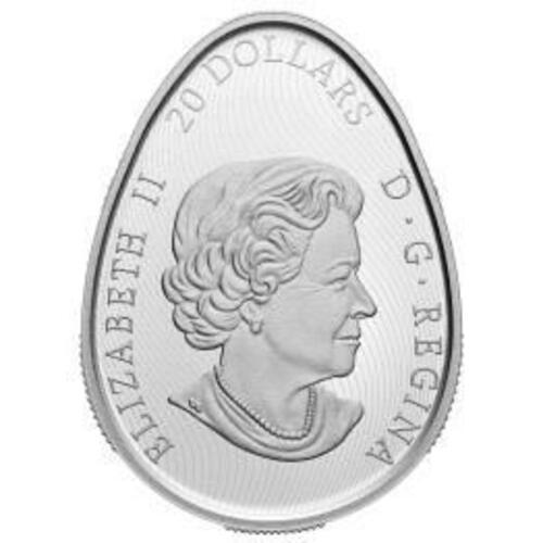 Vorderseite:Kanada : 20 Dollar Traditional Pysanka - eiförmig  2020 PP