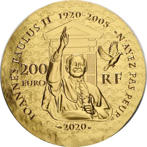 Rückseite:Frankreich : 200 Euro Schwester Emmanuelle  2020 PP