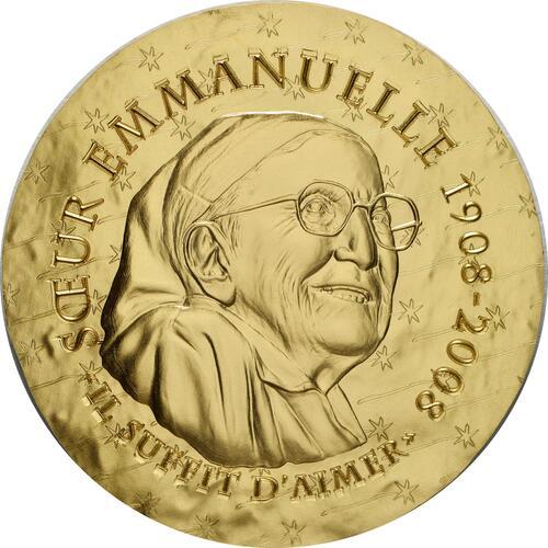Vorderseite:Frankreich : 200 Euro Schwester Emmanuelle  2020 PP