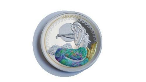 Lieferumfang:Solomon Islands : 2 Dollar Of Myth & Magic - Mermaid  2020 P/L