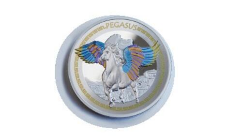 Lieferumfang:Solomon Islands : 2 Dollar Of Myth & Magic - Pegasus  2020 P/L