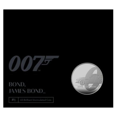 Lieferumfang:Großbritannien : 5 Pound James Bond (1)  2020 bfr