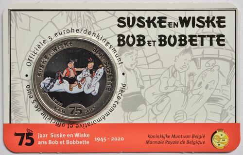 Lieferumfang:Belgien : 5 Euro Suske und Wiske coloriert  2020 Stgl.