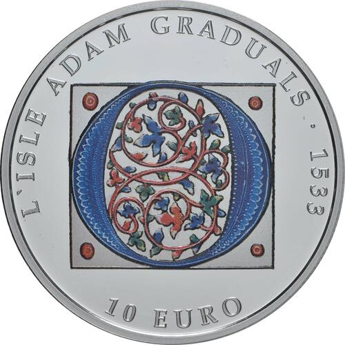 Vorderseite:Malta : 10 Euro Gotik  2020 PP