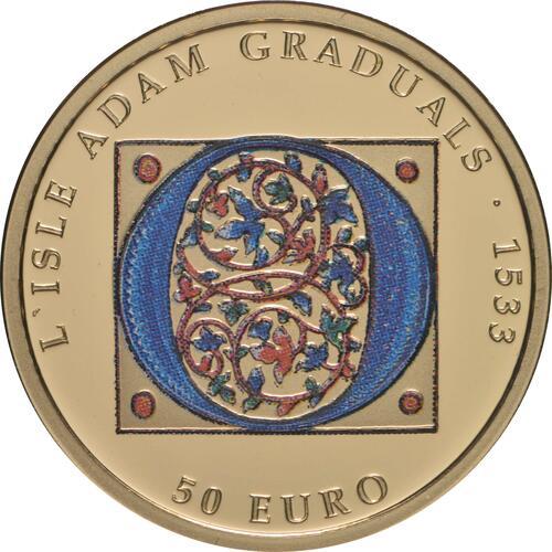 Vorderseite:Malta : 50 Euro Gotik  2020 PP