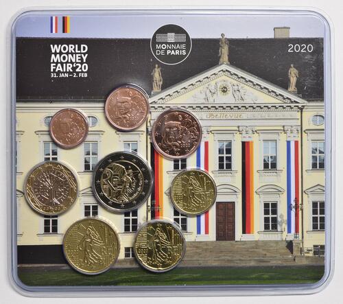 Lieferumfang:Frankreich : 3,88 Euro KMS Frankreich WMF Berlin 2020  2020 Stgl.