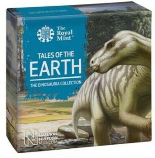 Zertifikat:Großbritannien : 50 Pc Dinosaurier Kollektion - Iguanodon   im Etui  2020 PP