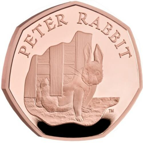 Lieferumfang:Großbritannien : 0.5 Pound Beatrix Potter - Peter Rabbit  2020 PP