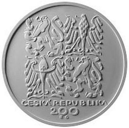 Vorderseite:Tschechische Republik : 200 Kronen 200. Geb. Bozena Nemcova (Schriftstellerin)  2020 PP