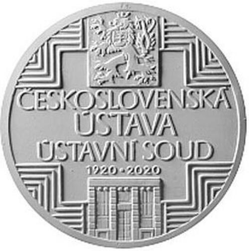 Lieferumfang:Tschechische Republik : 500 Kronen 100 Jahre Tschechoslowakische Verfassung  2020 PP