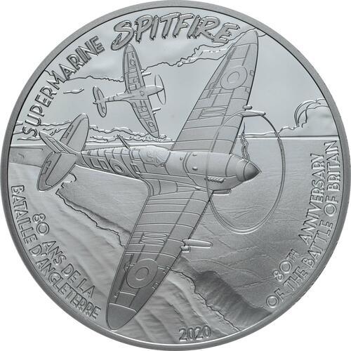 Vorderseite:Frankreich : 10 Euro Spitfire  2020 PP