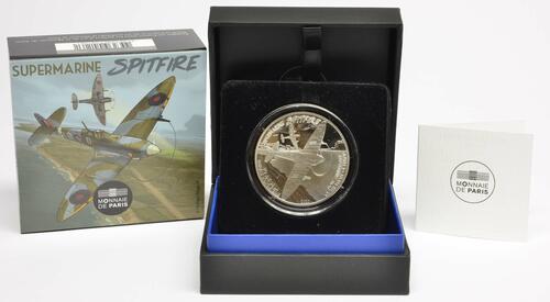 Lieferumfang:Frankreich : 50 Euro Spitfire  2020 PP