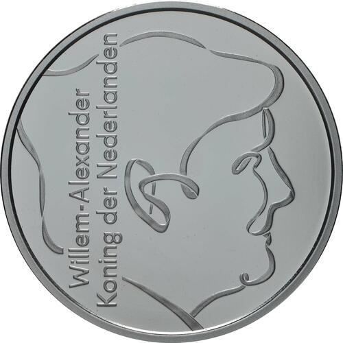 Rückseite:Niederlande : 5 Euro 75 Jahre Ende 2. Weltkrieg  2020 PP