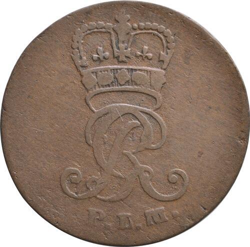 Rückseite:Deutschland : 1 Pfennig   1797 ss.