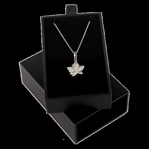 Zertifikat:Kanada : 30 Dollar Maple Leaf Brooch Legacy mit Zirkonen+Kette 2 oz  2020 PP