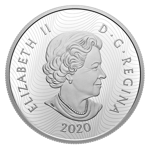 Rückseite:Kanada : 30 Dollar Dickhornschaf - Imposante Ikonen #1 im Einzeletui  2020 PP