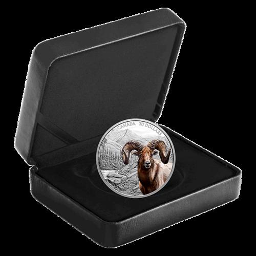 Lieferumfang:Kanada : 30 Dollar Dickhornschaf - Imposante Ikonen #1 im Einzeletui  2020 PP