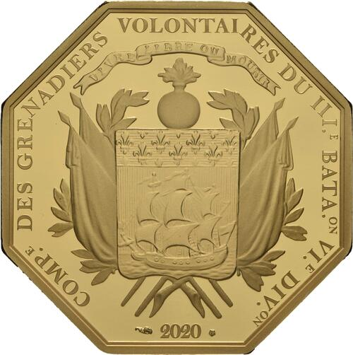 Rückseite:Frankreich : 200 Euro La Fayette  2020 PP