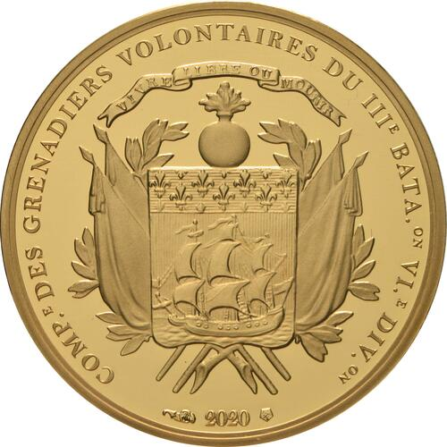 Rückseite:Frankreich : 50 Euro La Fayette  2020 PP
