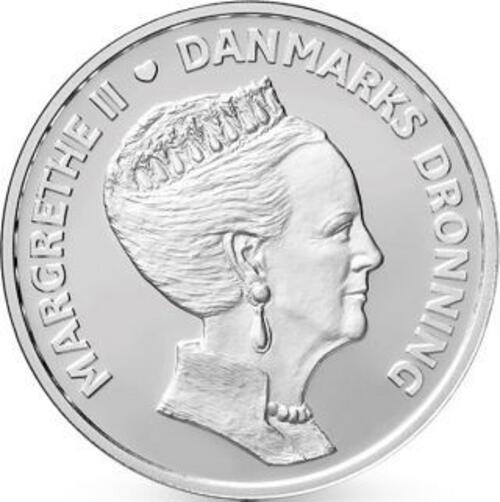 Lieferumfang:Dänemark : 500 Kronen 80. Geb. Königin Margarethe  2020 Stgl.