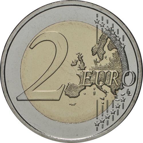 Vorderseite:Finnland : 2 Euro Universität von Turku  2020 Stgl.
