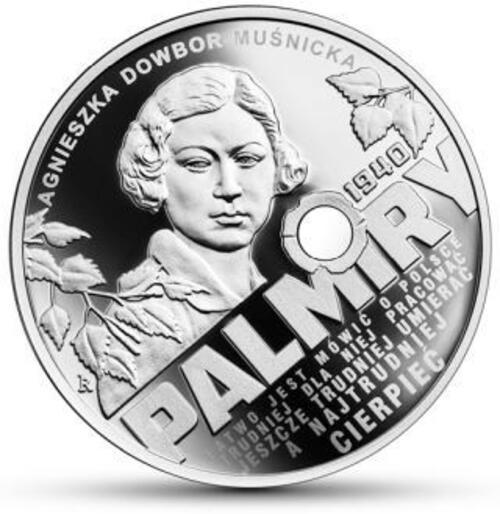 Vorderseite:Polen : 10 Zloty Katyn - Palmiry 1940  2020 PP