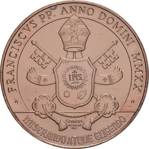 Vorderseite:Vatikan : 10 Euro Kunst und Glaube: La Pieta  2020 Stgl.
