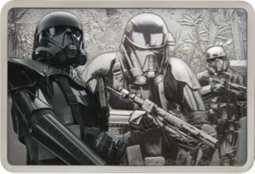 Lieferumfang:Niue : 2 Dollar Death Trooper-Star Wars/Guards of the Empire  2020 Stgl.