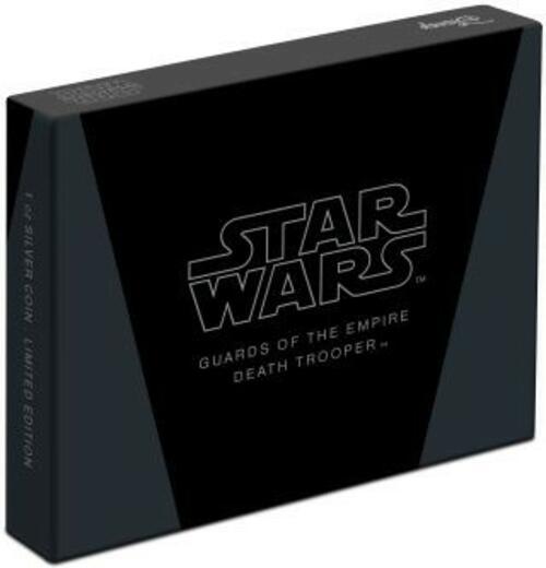 Zertifikat:Niue : 2 Dollar Death Trooper-Star Wars/Guards of the Empire  2020 Stgl.