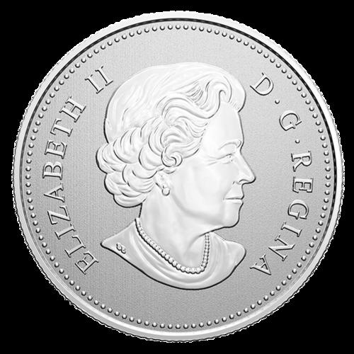 Rückseite:Kanada : 5 Dollar Hudson´s Bay Company - Moments to Hold #2  2020 Stgl.