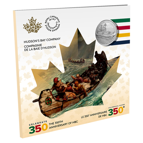Lieferumfang:Kanada : 5 Dollar Hudson´s Bay Company - Moments to Hold #2  2020 Stgl.