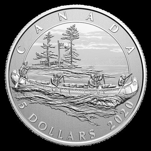 Vorderseite:Kanada : 5 Dollar Hudson´s Bay Company - Moments to Hold #2  2020 Stgl.