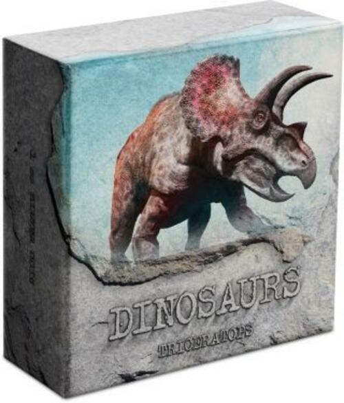 Zertifikat:Niue : 2 Dollar Triceratops - Dinosaurier  #2  2020 PP