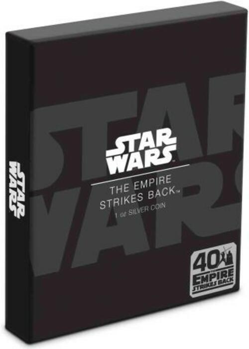 Zertifikat:Niue : 2 Dollar Star Wars Poster - The Empire Strikes Back  2020 PP