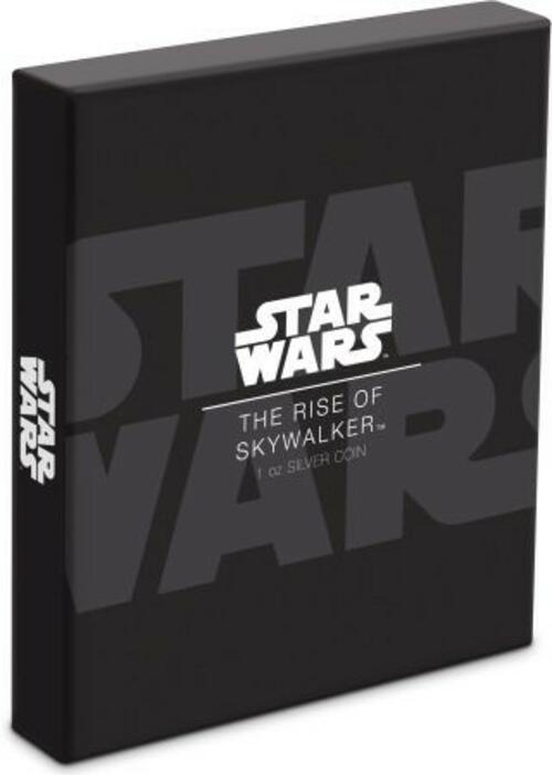 Zertifikat:Niue : 2 Dollar Star Wars Poster - The Rise of Skywalker  2020 PP