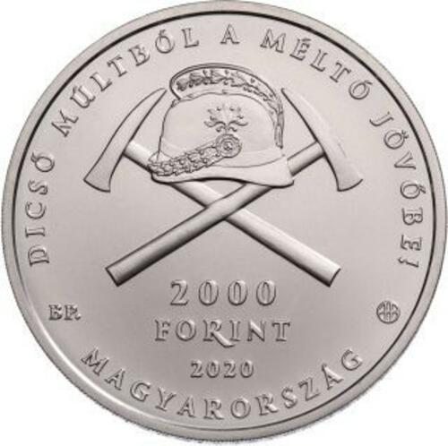 Lieferumfang:Ungarn : 2000 Forint 150 Jahre Ungarische Feuerwehr  2020 Stgl.