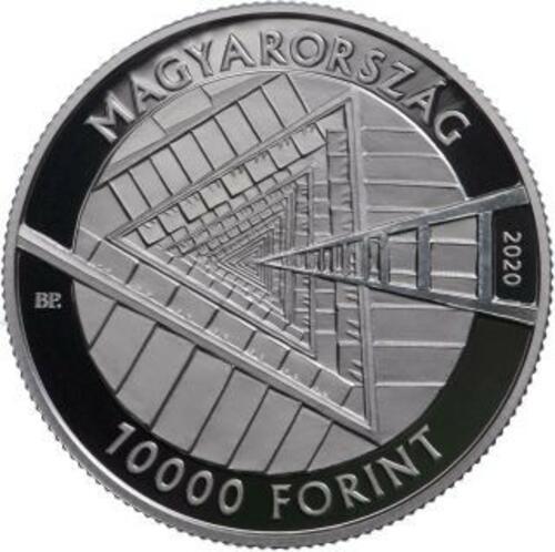 Vorderseite:Ungarn : 10000 Forint 100. Geburtstag Janos Harsanyi  2020 PP
