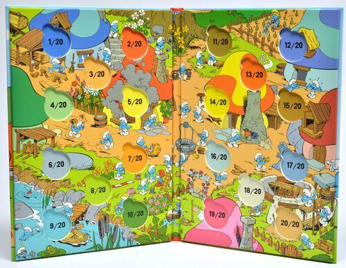 Rückseite:Frankreich :   Sammeletui für Ausgabe 1-20 zum Eindrücken  2020 Stgl.