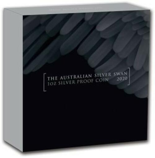Zertifikat:Australien : 100 Dollar Schwan im Etui  2020 PP