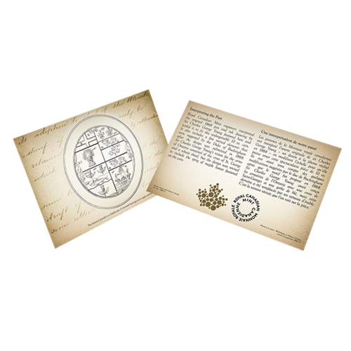 Zertifikat:Kanada : 100 Dollar Archivschätze – Hist. Wappen Canadas  2020 Stgl.
